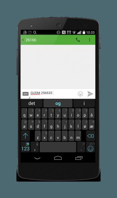 SMS-maleravlesning